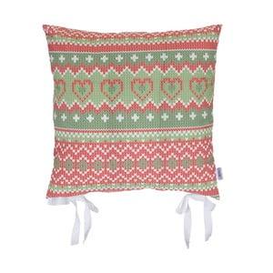 Vianočný podsedák Apolena Shine Knit, 43 x 43 cm