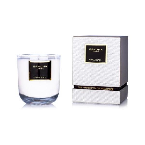 Vonná sviečka Bahoma, vôňa čiernej vanilky, 75 hodín horenia