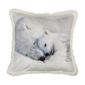Vankúš White Bear, 45x45 cm