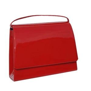 Kožená kabelka/listová kabelka  Boscollo Red 2870