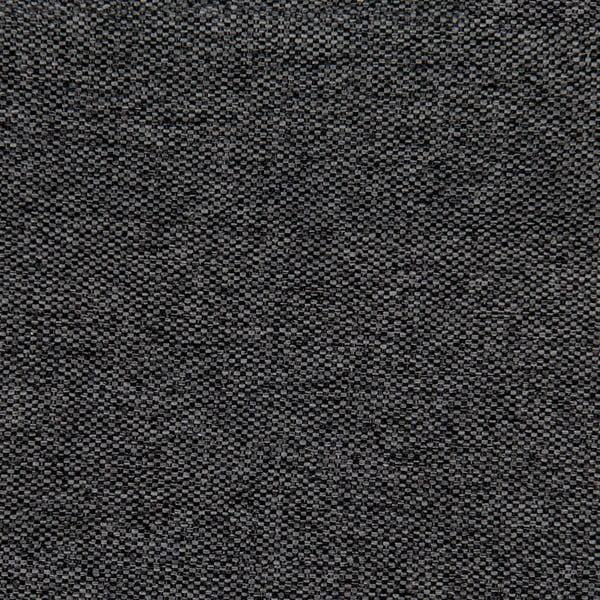 Tmavosivá posteľ VIVONITA Windsor 180x200cm, čierne nohy