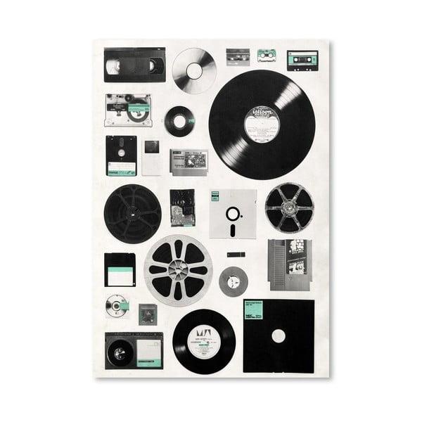 Plagát Data od Florenta Bodart, 30x42 cm