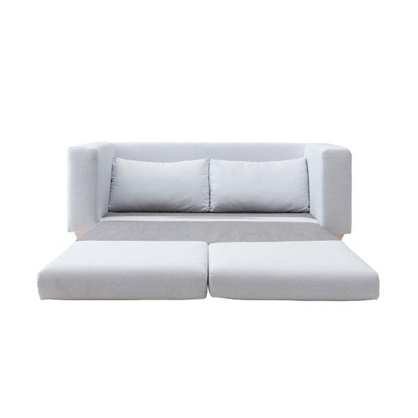 Sivá rozkladacia sedačka Softline Victor