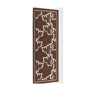 Hnedý vysokoodolný kuchynský koberec Webtapetti Maple Marrone, 55 x 140 cm