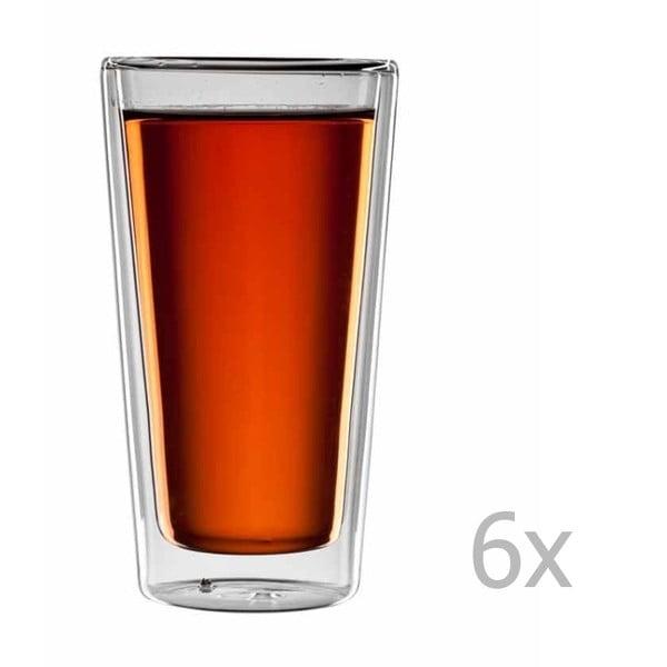Sada 6 pohárov na čaj bloomix Tripoli