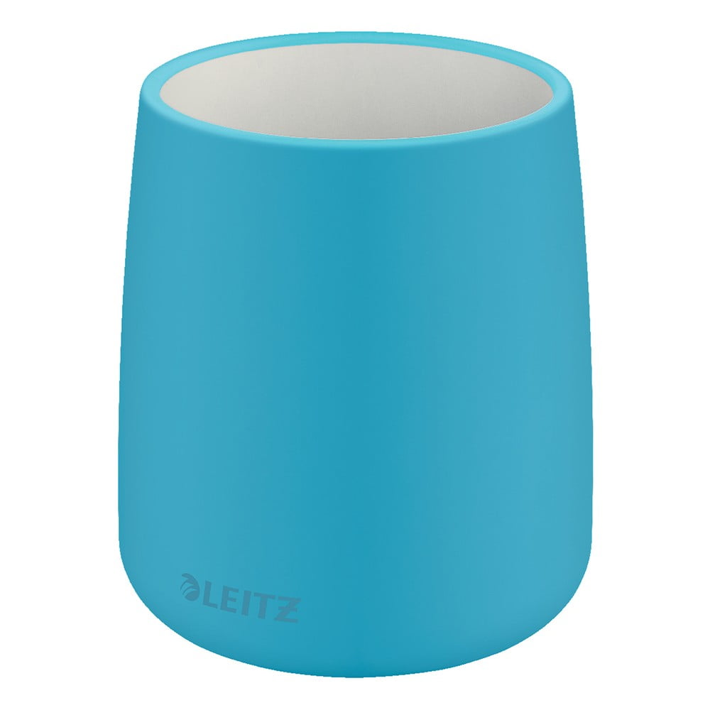 Modrý keramický téglik na ceruzky Leitz Cosy