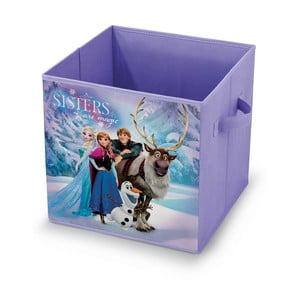 Úložný box na hračky Domopak Frozen, 32x32cm