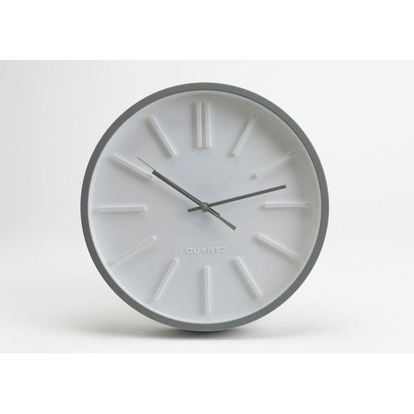 Hodiny White Minimal, 36 cm