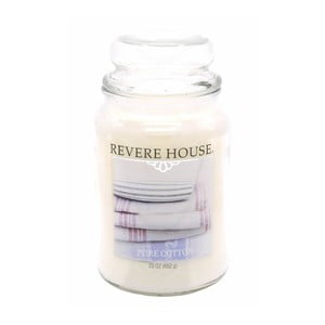 Vonná sviečka v skle s vôňou čistej bavlny Candle-Lite, doba horenia až 120 hodín