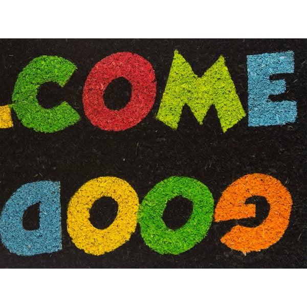 Rohožka z kokosových vlákien Welcome, 40x70 cm
