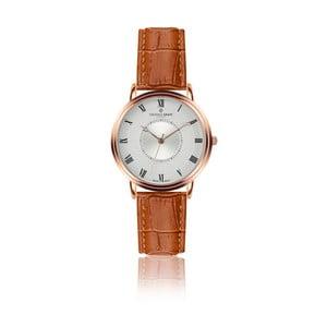 Pánske hodinky s koňakovohnedým remienkom z pravej kože Frederic Graff Rose Grand Combine Croco Ginger