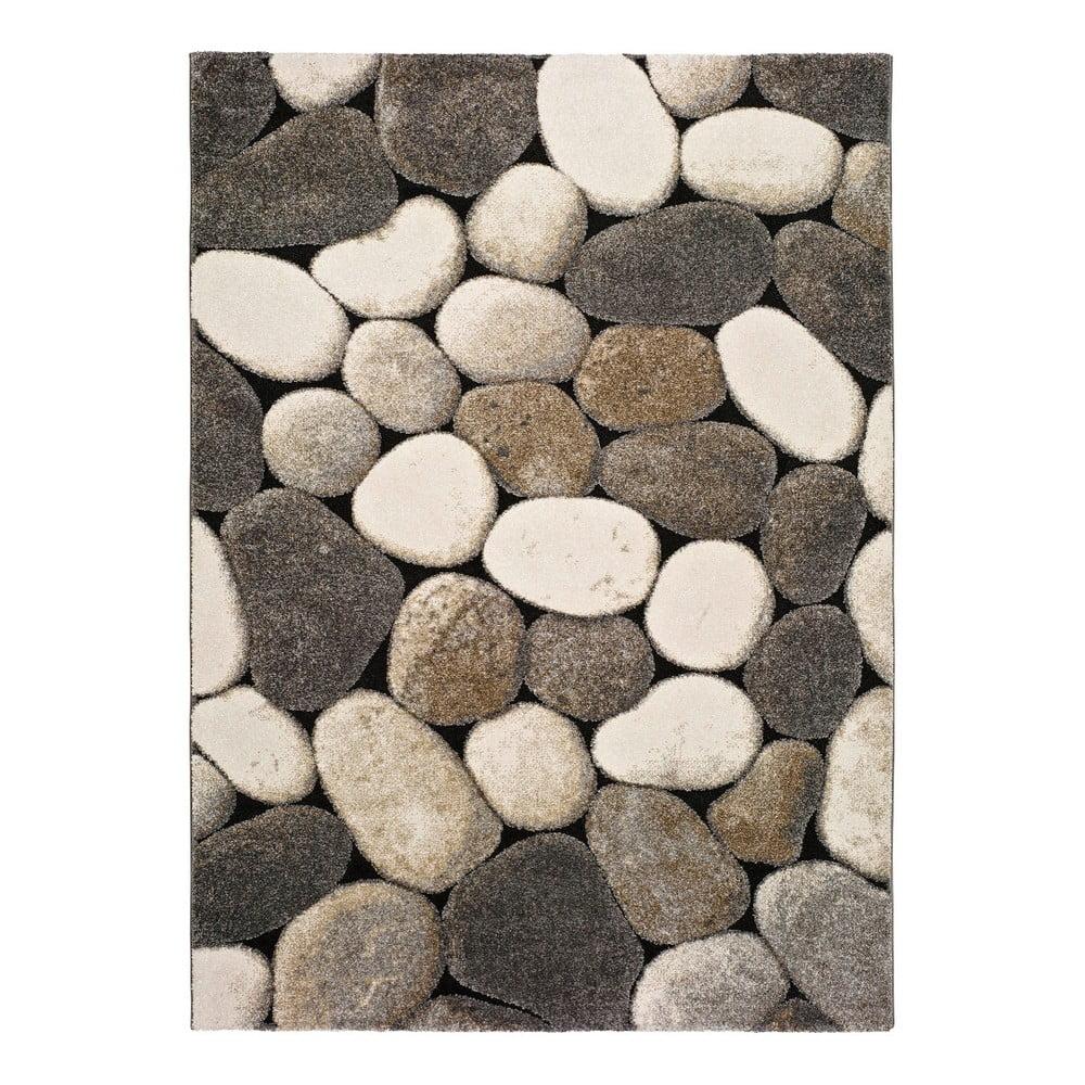 Sivý koberec Universal Pebble, 160 × 230 cm