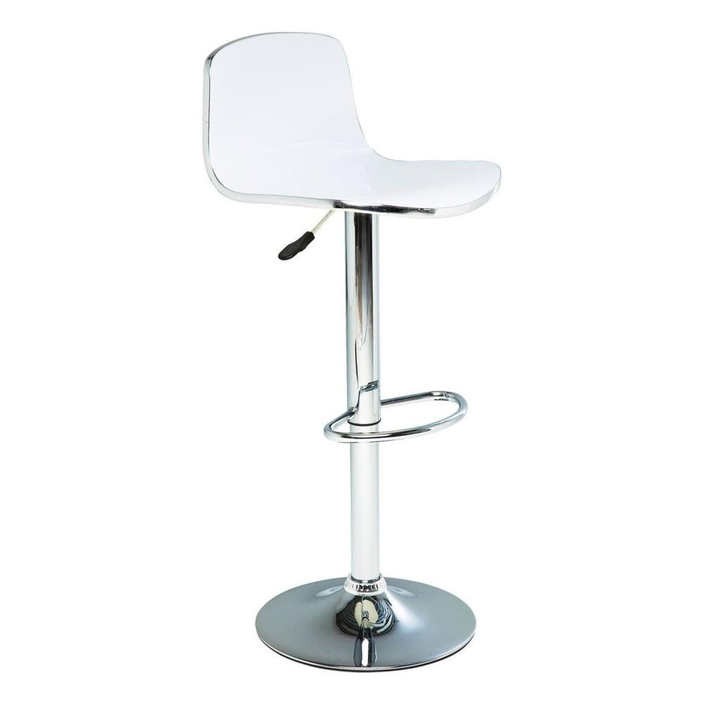 Sada 2 bielych barových stoličiek Kare Design Dimensionale