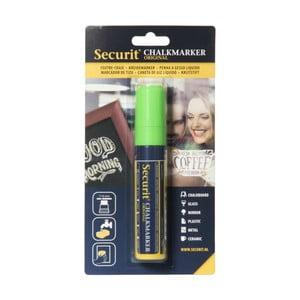 Zelená kriedová fixka na vodnej báze Securit® Liquid Passo
