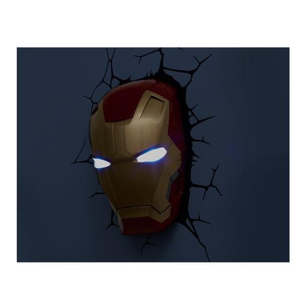 Nástenné svetlo s nálepkou Ironman