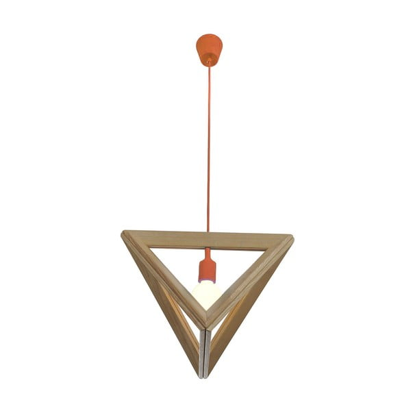 Závesné svietidlo Triangle Orange