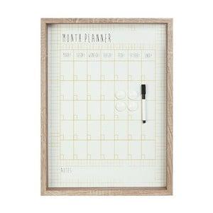 Nástenný mesačný plánovač Month Board
