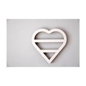 Polička Unlimited Design For Children Srdce