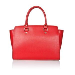 Kožená kabelka Markese 2391 Red