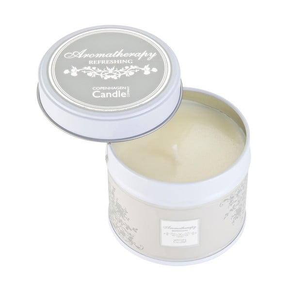 Aroma sviečka v plechovke  Refreshing, doba horenia 32 hodín
