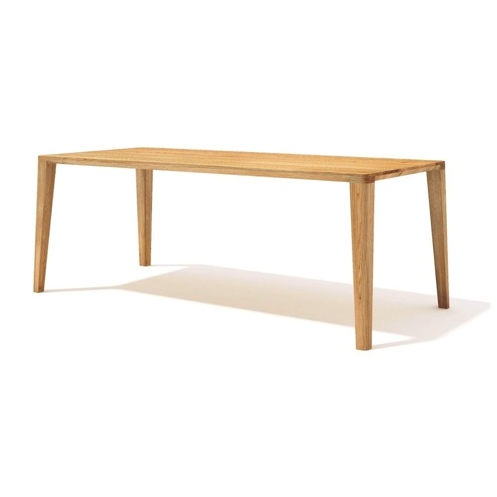 0d7b3a0e045f Jedálenský stôl z masívneho dubového dreva Javorina Ka