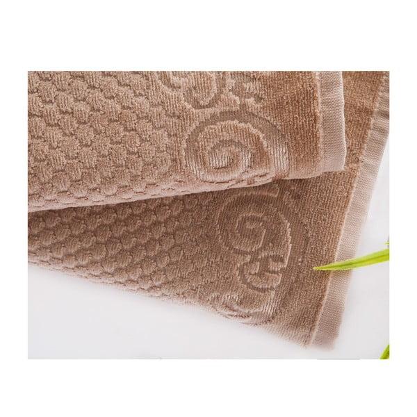 Set uteráka a osušky Acustic Mink, 50x90 cm a 70x140 cm