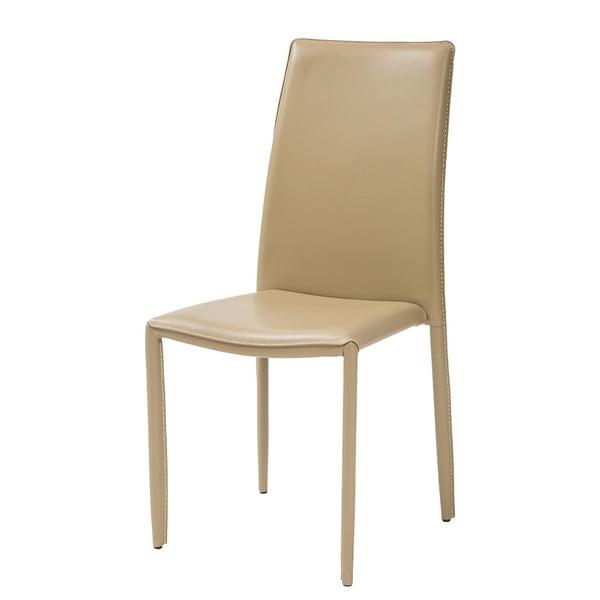 Jedálenská stolička Dedis, béžová