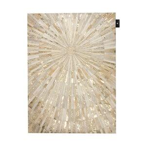 Kožený koberec Sunshine, 140x200 cm