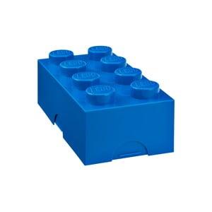 Box na desiatu LEGO®, modrý