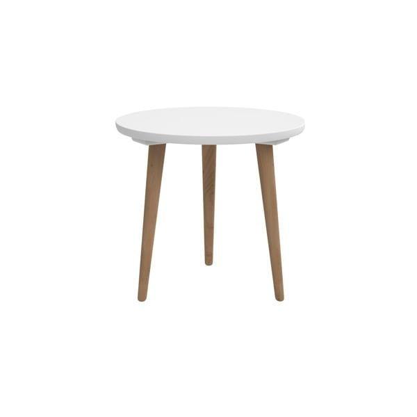 Stôl D2 Bergen, 45 cm, biely