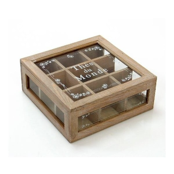 Krabička na čaje Thes du Monde