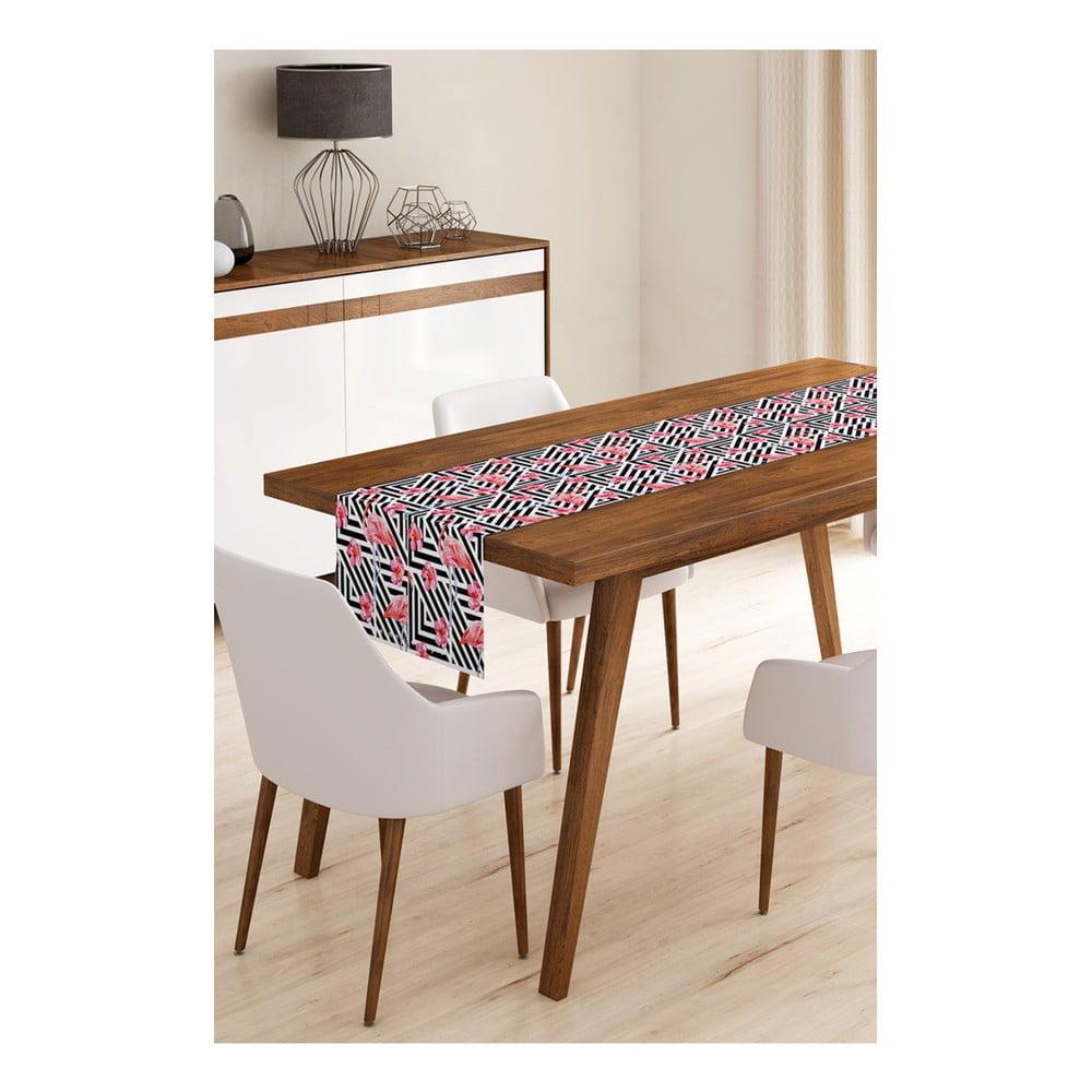 Behúň na stôl z mikrovlákna Minimalist Cushion Covers Flamengo, 45 × 145 cm