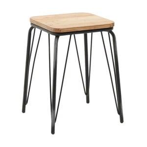Stolička so sedadlom z brestového dreva InArt Glamazon