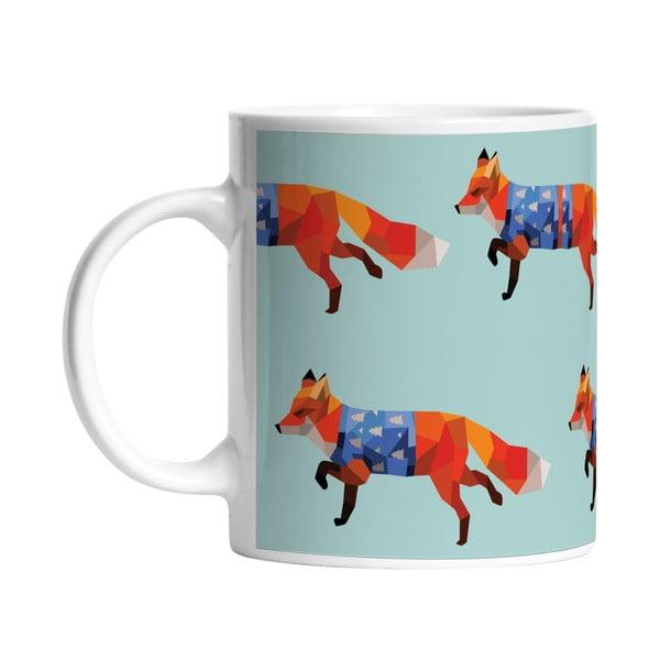 Keramický hrnček Go Fox Go, 330 ml