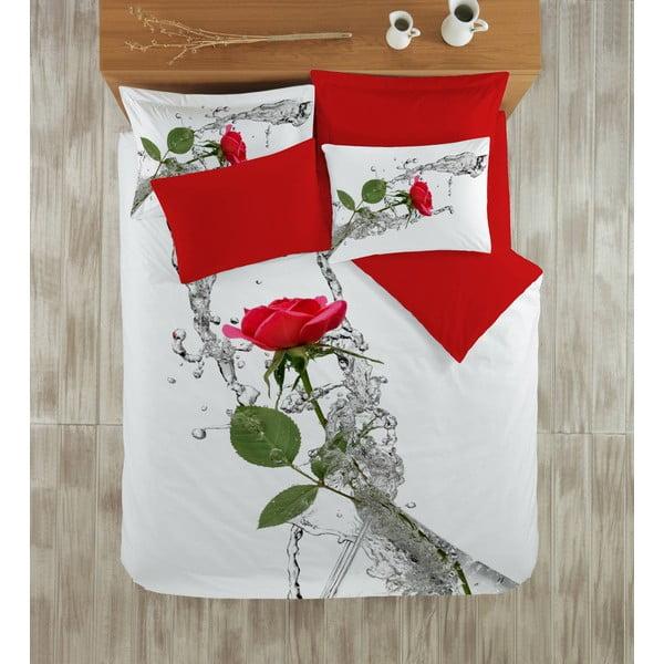 Obliečky s plachtou Red Rose, 200x220 cm