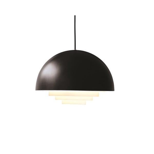 Čierne závesné svetlo Herstal Motown