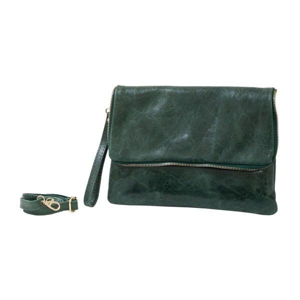 Zelená kabelka z pravej kože Andrea Cardone Marco