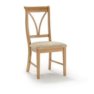 Jedálenská stolička z dubového dreva VIDA Living Carmen