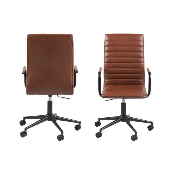 Hnedá kancelárska stolička Actona Winslow