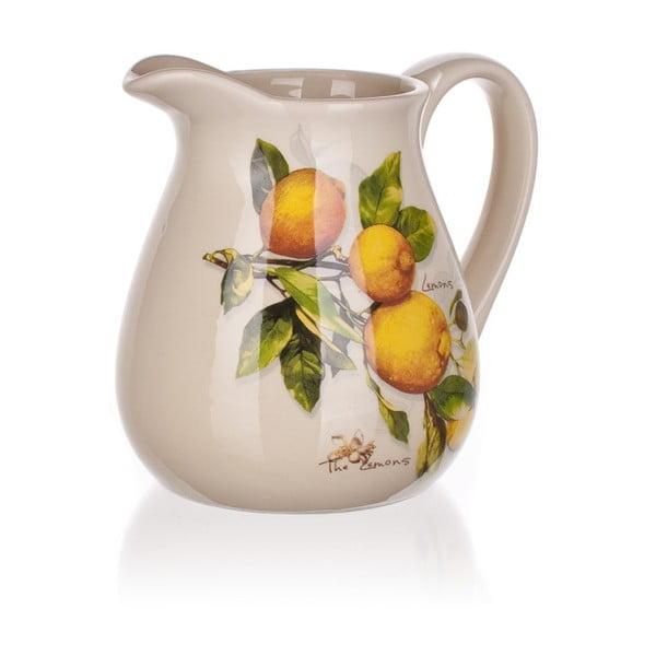 Keramický džbánik Banquet Lemon, 880ml