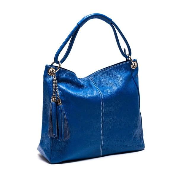 Kožená kabelka Anna Luchini 71 Bluette