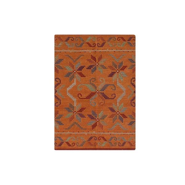 Vlnený koberec Kilim No. 776, 155x240 cm