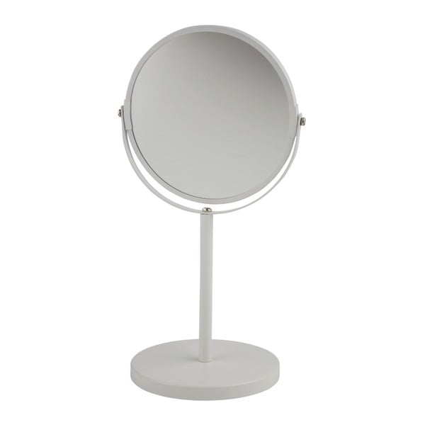Sivé kozmetické stolové zrkadlo Galzone