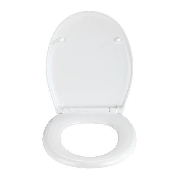 WC sedadlo s jednoduchým zatváraním Wenko Easy Geometry, 44,5 × 37 cm