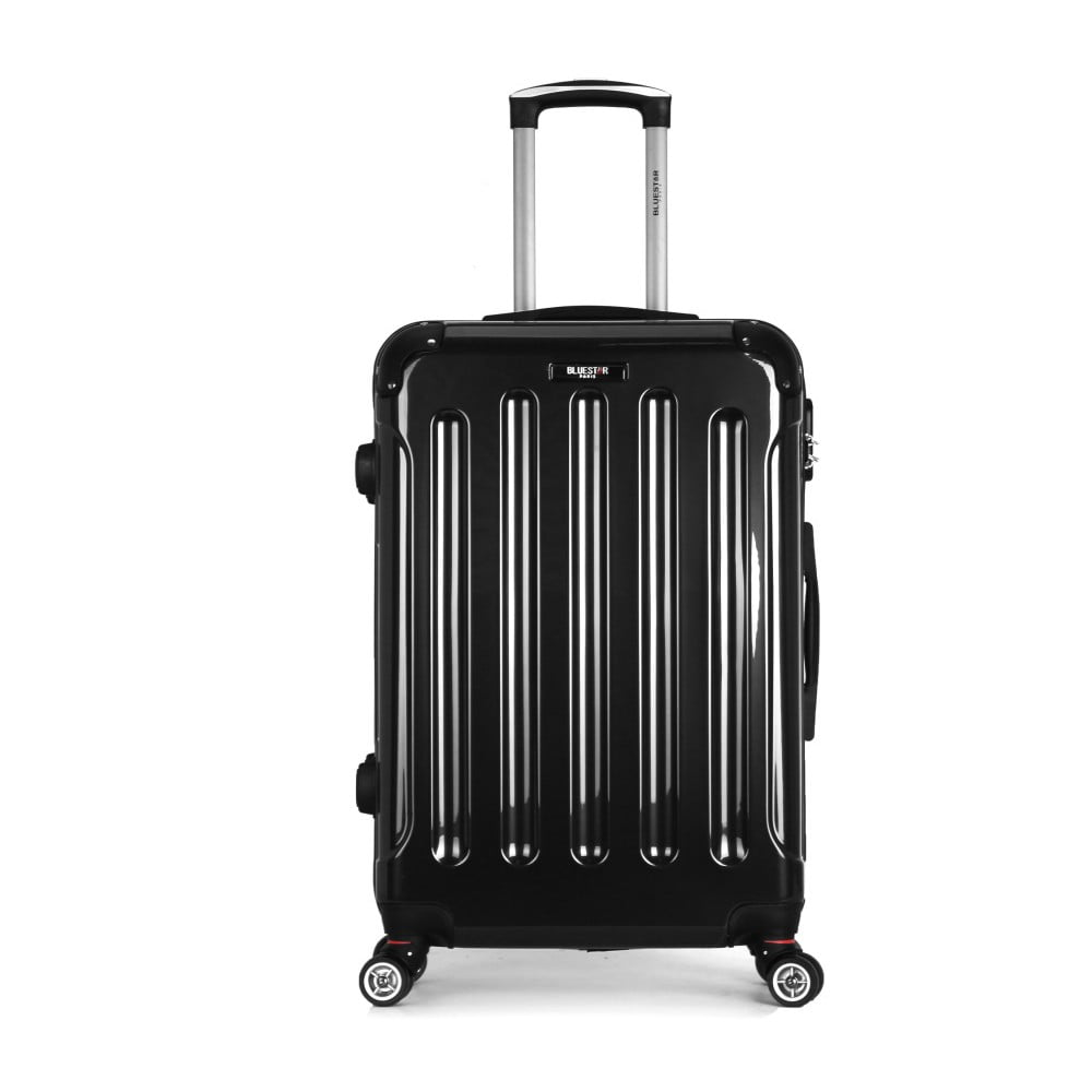Čierny cestovný kufor na kolieskach Bluestar Miratio, 70 l