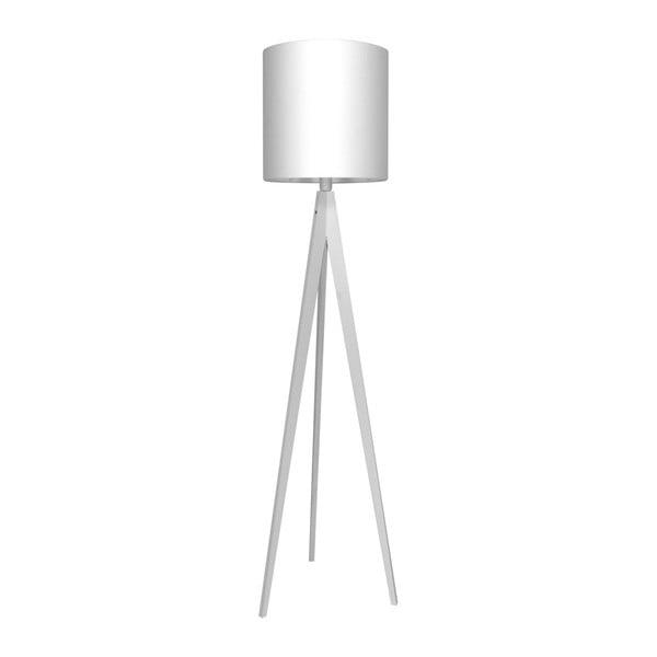 Biela stojacia lampa Artist, biela lakovaná breza, 158 cm