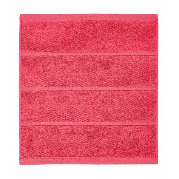 Korálovočervená kúpeľňová predložka Aquanova Adagio, 60 x 60 cm
