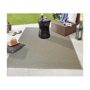 Sivý koberec vhodný aj do exteriéru Floorita Pallino Grey, 194 × 290 cm