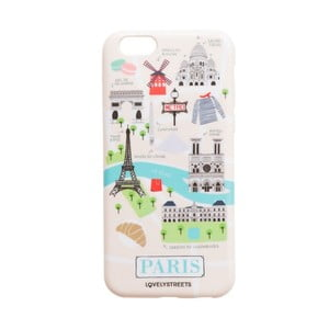 Farebný obal na iPhone 6/6S Mr. Wonderful Paris