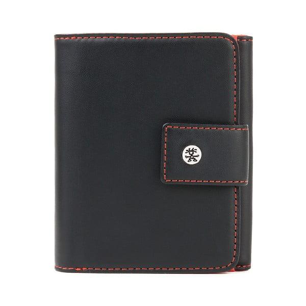 Peňaženka Compli Kate, čierna/oranžová
